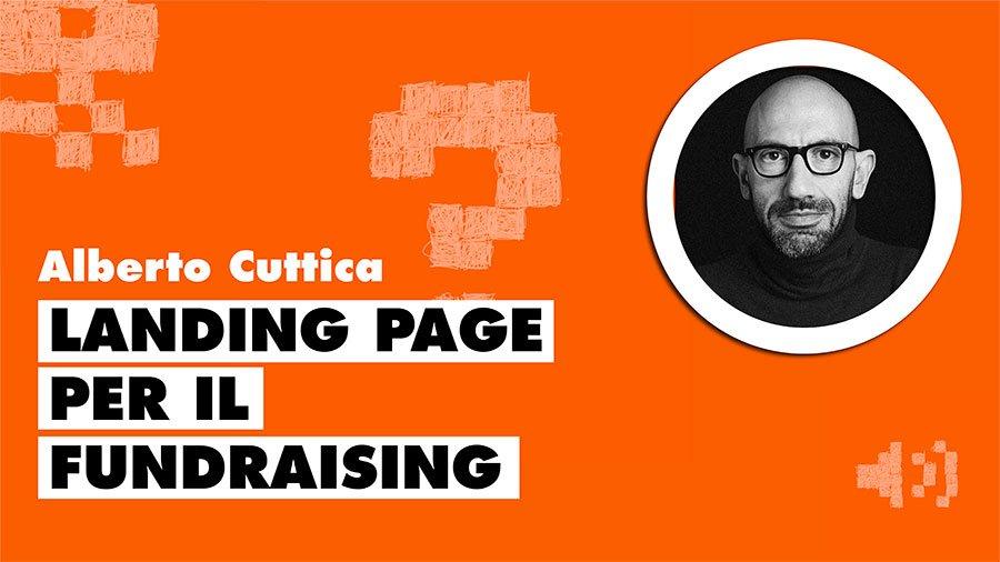La landing page per il fundraising